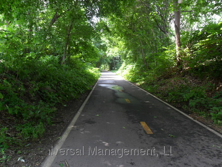 Walking and Bike Path near pro