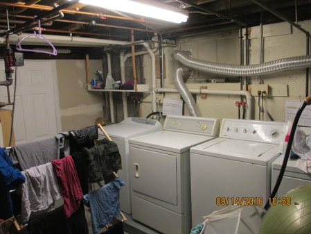 Left Pair Washer and Dryer Inc