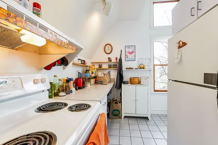 Kitchen with Large Window and