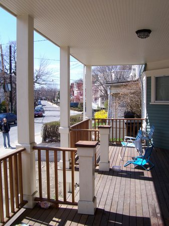 front porch/deck
