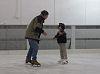 Free Ice skating rink in Boston