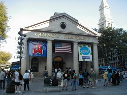 Quincy Market Building, Faneuil Hall Marketplace, Boston
